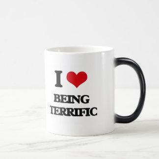 Amo el ser fabuloso tazas de café