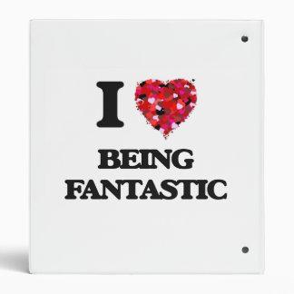 """Amo el ser fantástico carpeta 1"""""""
