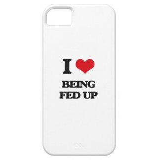 Amo el ser FED para arriba iPhone 5 Case-Mate Coberturas