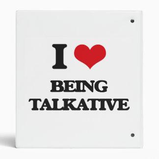 Amo el ser hablador