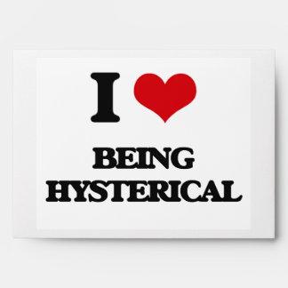 Amo el ser histérico
