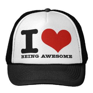 Amo el ser impresionante gorras