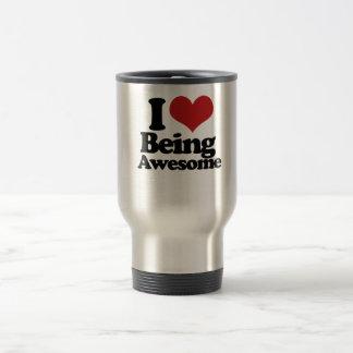 Amo el ser impresionante tazas de café