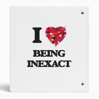 "Amo el ser inexacto carpeta 1"""