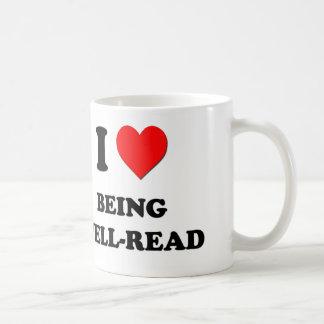 Amo el ser instruido taza