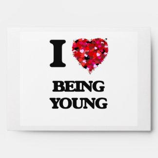 Amo el ser joven sobres