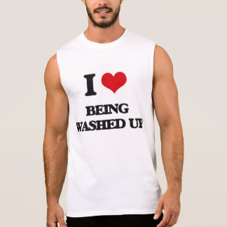 Amo el Ser lavado-Para arriba Camiseta Sin Mangas