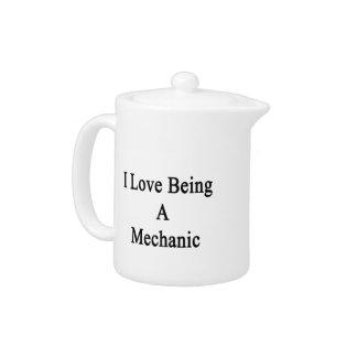 Amo el ser mecánico