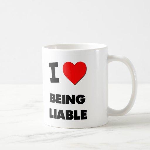 Amo el ser obligado taza