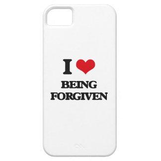 Amo el ser perdonado iPhone 5 carcasas