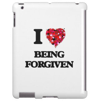 Amo el ser perdonado funda para iPad