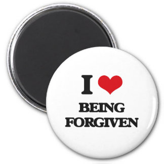 Amo el ser perdonado imán