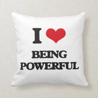 Amo el ser potente cojin