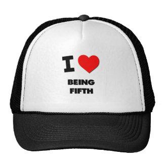 Amo el ser quinto gorra