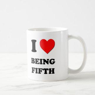 Amo el ser quinto taza de café