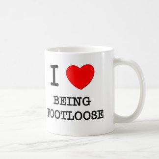 Amo el ser sin trabas taza de café