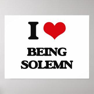 Amo el ser solemne poster