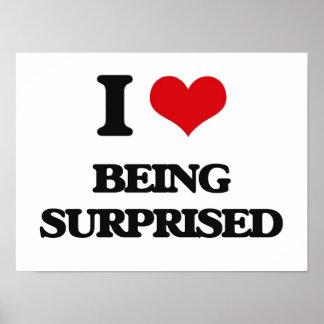 Amo el ser sorprendido poster
