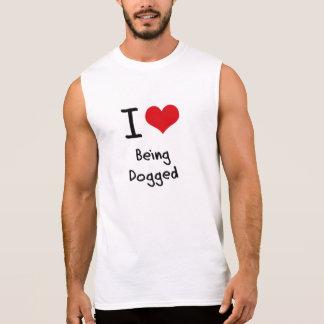 Amo el ser tenaz camisetas sin mangas