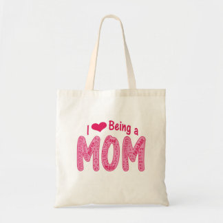 Amo el ser un bolso de la mamá bolsas de mano