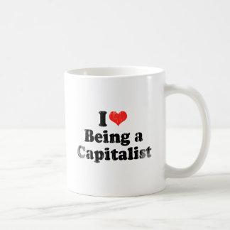 AMO el SER un CAPITALIST.png Taza De Café