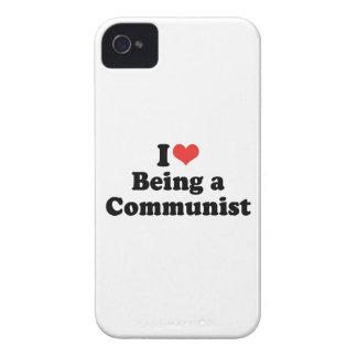 AMO EL SER UN COMUNISTA - PNG iPhone 4 CÁRCASAS