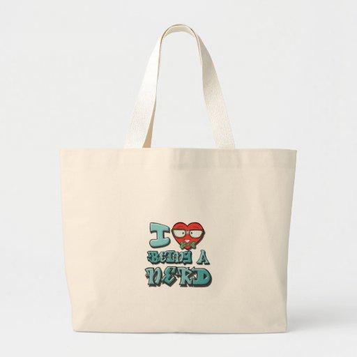 Amo el ser un empollón bolsas