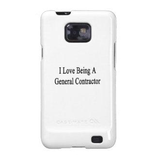 Amo el ser un general Contractor Samsung Galaxy S2 Fundas