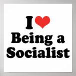 AMO EL SER UN SOCIALISTA - .PNG POSTERS