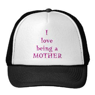 Amo el ser una madre gorras de camionero