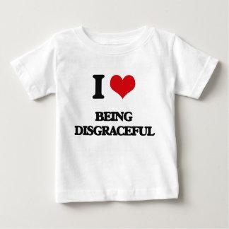 Amo el ser vergonzoso tee shirt