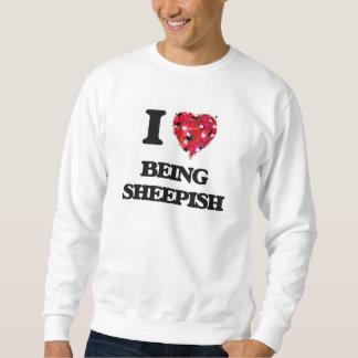 Amo el ser vergonzoso suéter