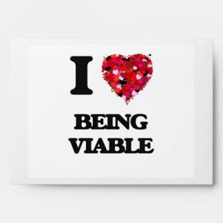 Amo el ser viable sobre