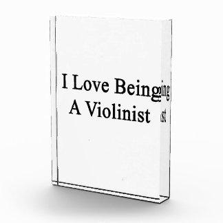 Amo el ser violinista