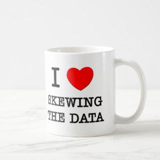 Amo el sesgar de los datos taza
