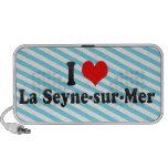 Amo el Seyne-sur-mer del La, Francia Altavoces De Viaje