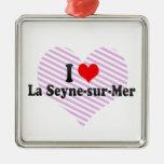 Amo el Seyne-sur-mer del La, Francia Ornamento Para Arbol De Navidad