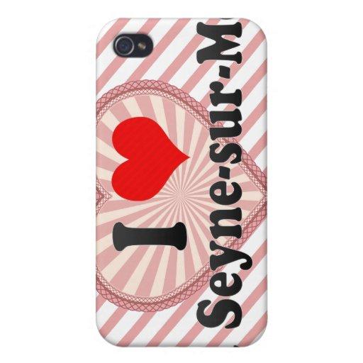 Amo el Seyne-sur-mer del La, Francia iPhone 4/4S Fundas