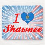 Amo el Shawnee, Oklahoma Tapetes De Raton