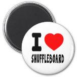 Amo el Shuffleboard Iman De Frigorífico