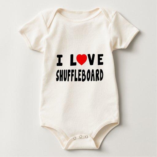 Amo el Shuffleboard Mameluco