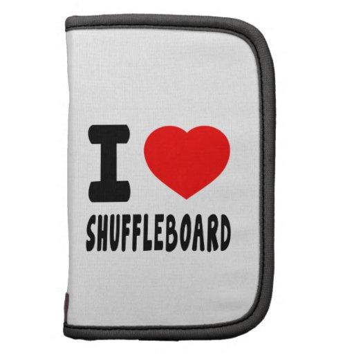 Amo el Shuffleboard Planificadores