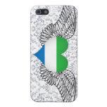 Amo el Sierra Leone - alas iPhone 5 Carcasa