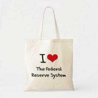 Amo el sistema de Federal Reserve Bolsa Tela Barata
