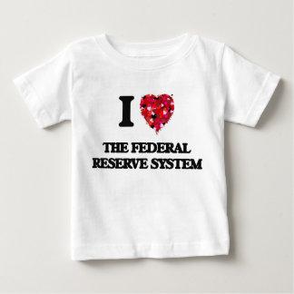 Amo el sistema de Federal Reserve Playeras