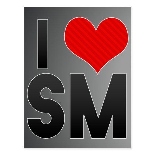 Amo el SM Tarjeta Postal
