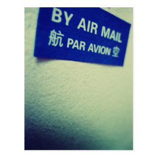 Amo el snail mail - al lado del correo aéreo tarjetas postales