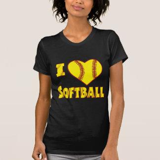 Amo el softball 2 camisetas