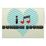 Amo el sonido de Dunedin Felicitacion