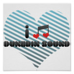Amo el sonido de Dunedin Posters